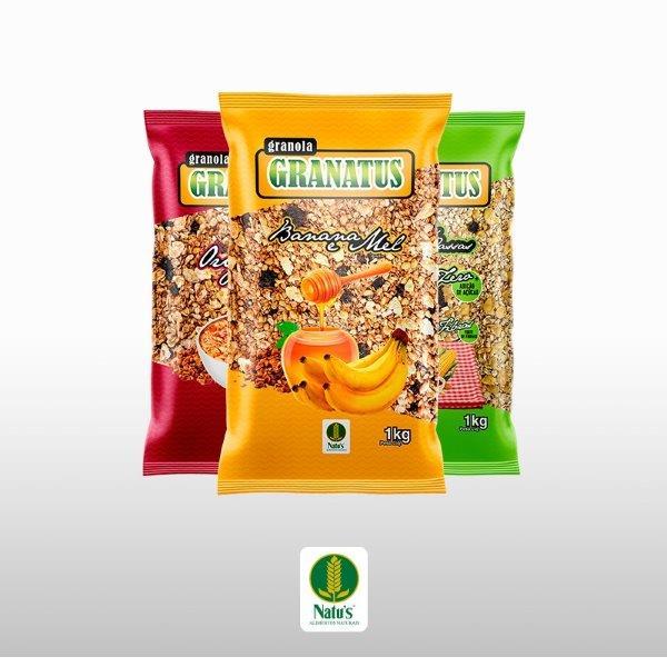 Fabrica de granola em sp