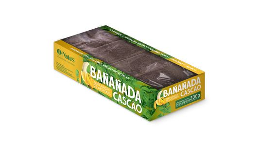Banana Cascão sem Açúcar