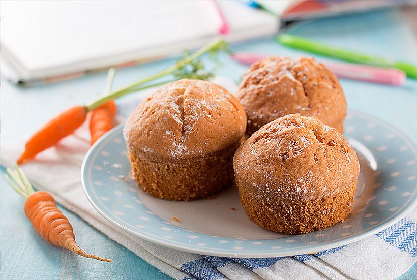 Muffin Integral De Cenoura