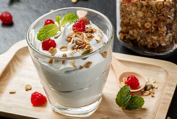 Iogurte caseiro sem Lactose
