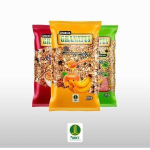 Granolas naturais